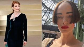 Schaulaufen à la Lagerfeld: Hollywood-Stars und eine Schweizerin