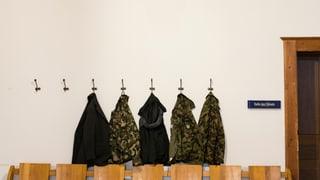 Militärgericht entlastet fünf Militärkader
