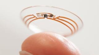 Novartis und Google entwickeln «intelligente» Kontaktlinse