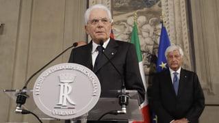 Präsident Mattarella gibt Parteien mehr Zeit für Verhandlungen