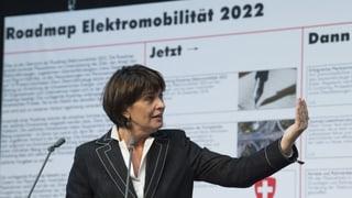Ziel sind 15 Prozent Elektrofahrzeuge in der Schweiz