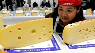 Rekordhohe Milch- und Käseproduktion 2014