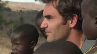 Kuscheln, Kochen und Kinderlachen - Roger Federer in Malawi