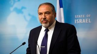 Ex-Mossad-Agent: Lieberman ist «Amateur» und «Rassist»