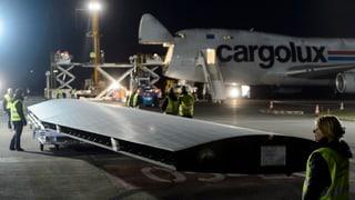 Lufttaxi für «Solar Impulse 2» steht in Payerne bereit