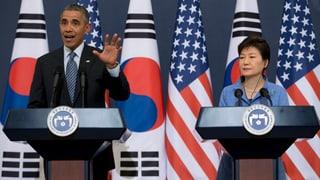 Im Schatten des Atomtests: Obama warnt Nordkorea