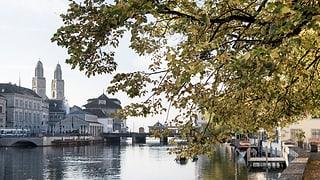 Zürich zieht noch mehr Touristen an, Schaffhausen weniger