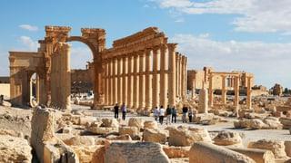 Kulturgüter aus dem 3D-Drucker: Die Rettung für Palmyra?