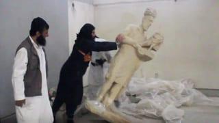 Terroristen im Krieg gegen die Kultur