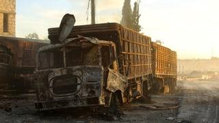 Siria: Attatga sin convoi – Stadis Unids fan responsabel Russia