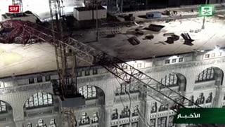 Mekka: Über 100 Tote bei Kran-Unglück