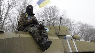 Ils separatists pro-russ vulan salvar las armas grevas