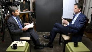 «Trump behandelt Frauen wie ein Stück Fleisch», sagte James Comey im Interview mit dem US-TV-Sender ABC News.