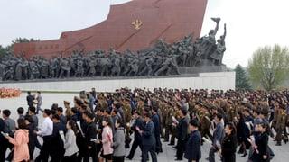 Nordkorea feiert sich und provoziert