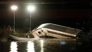 Mindestens elf Tote nach TGV-Unglück