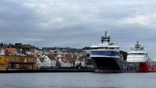 Die Ölpreise fallen, Norwegen leidet