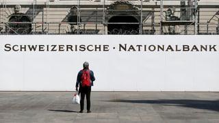 La Banca naziunala resta tar sia politica monetara