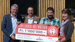 1 milliun francs da Coop per chascharia da Müstair