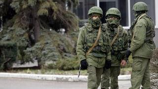 Chronologie: Gezerre um die Krim