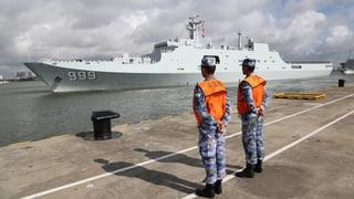 Chinas Armee ist bald in Afrika präsent