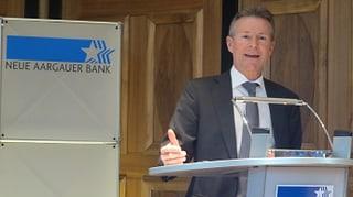Deutlich weniger Gewinn für die Neue Aargauer Bank