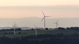 Alstom soll Turbinen für Windpark Grenchen bauen