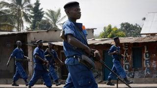 Proteste überschatten geplanten Urnengang in Burundi