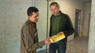 Die Post gewinnt den Päckli-Test gegen UPS und Co.