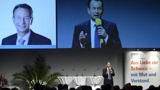 Parteipräsident Philipp Müller: «Die FDP lebt!»