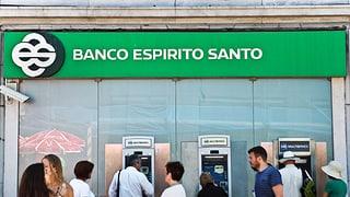 Vertrauen in Grossbank Espirito Santo erschüttert