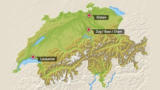 Zersiedelung der Schweiz seit den 60er-Jahren