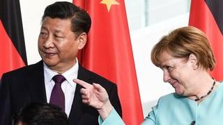 Merkel trifft Xi Jinping und stellt Forderungen