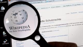 Wikipedia schaltet mal ab