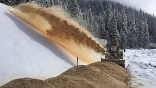 Sonntagsstory: Snowfarming - Schnee von letzter Saison nutzen