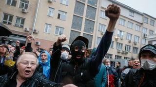 Pro-russische Kräfte stürmen Polizeizentrale in Odessa