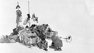 Von einem, der seine Grenzen suchte und sie in der Antarktis fand