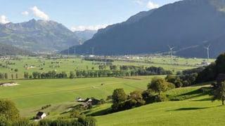 Auch im Glarnerland sind die Windräder umstritten