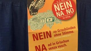 Iniziativa No Billag: Pro e contra ord vista grischuna