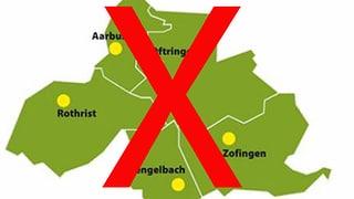 Verein «Stadt Region Zofingen» gibt Idee von Gross-Fusion auf
