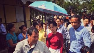 Burma wählte, jubelt und hofft