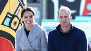 Trommelwirbel für Kate und William