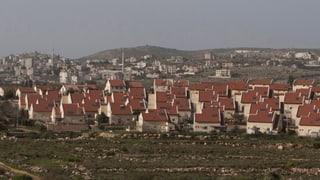 Westjordanland: Israelische Siedler sorgen für Bauboom