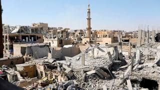 Altstadt von Rakka von IS-Miliz befreit
