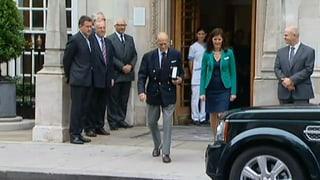 Nach Prinz Philips Spitalaufenthalt: Erholung auf Schloss Windsor