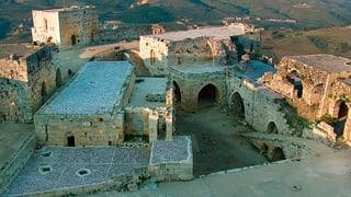 Syrien: Historische Burg bei Gefechten beschädigt