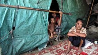 Regen bringt neue Gefahren für Rohingya