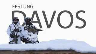 Das WEF in Davos stellt den Sicherheitskräften grosse Aufgaben. Die Infografik zeigt Details.