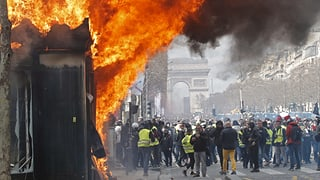 Proteste in Paris eskalieren