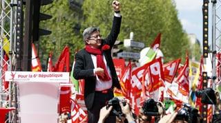 Französische Regierungskritiker auf der Strasse