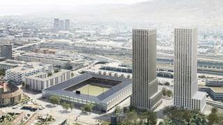 Zürcher SP zeigt Stadionprojekt «Ensemble» rote Karte